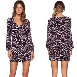 NWT Lovers + Friends Long Sleeve Mini Dress M